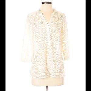Anthropologie Vanessa Virginia tunic blouse